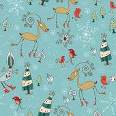 Ilustração de card.vector de natal. — Vetorial Stock