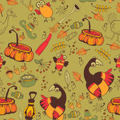 Il modello per le feste di autunno — Vettoriale Stock