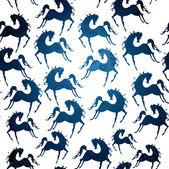Símbolo de 2014. caballo, patrón — Vector de stock