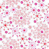 Bright lace seamless pattern. Valentine seamless — Stock Vector