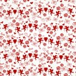 Valentine's day lovely seamless texture — Stock Vector #41739323