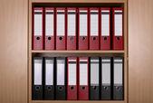 Archivos en armario de oficina — Foto de Stock