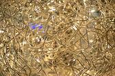Brilliant Light and Wire Decoration — Stock Photo