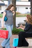 Two Women Shopping — Stock Photo