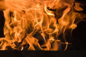 Hot Flames — Stock Photo
