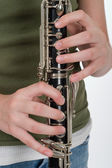 Clarinet Performance — Stock Photo