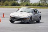 Wyścigowe porsche 944 — Zdjęcie stockowe