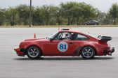 Porsche 911 At Autocross — 图库照片
