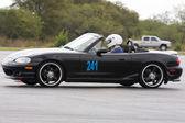 Mazda miata en autocross — Foto de Stock