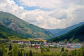 Mountain Town — Stock Photo