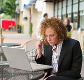 Business Woman In The City 7 — Stock Photo