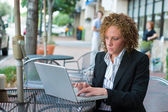 Business Woman In The City 8 — Stock Photo