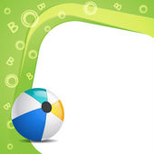 Illustration of alphabet B for ball — Stockvektor