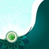 Beautiful background of rakhi on rakshabandhan — Stock Vector
