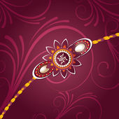Fundo bonito de rakhi no festival de rakshabandhan — Vetorial Stock