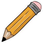Cartoon pencil — Stock Vector