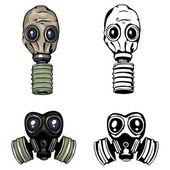 Vector gas mask — Stock Vector