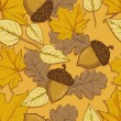 Pattern of autumn leaves — Stock Vector #31032131