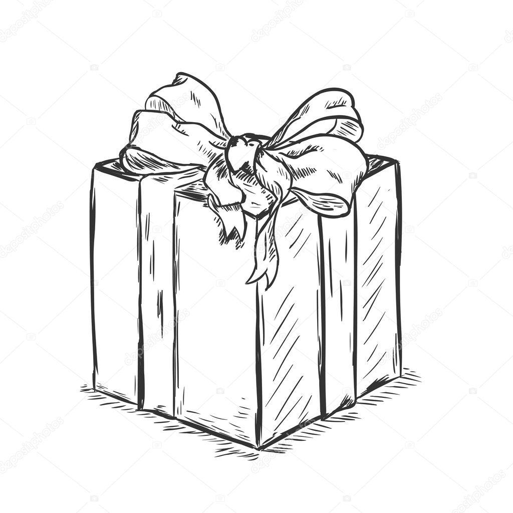 Подарок рисунок графика 95