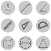 Geometry Icons — Vector de stock