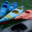 Kayaks in HLong Bay, Vietnam — Stock Photo #28822303