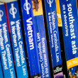 Lonely Planet Guidebooks for Asia — Stock Photo