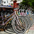 Stock Photo: Tandem bicycles for rent, Vietnam