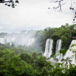 Iguazu Falls in Argentina and Brazil, one of the Seven Wonders o — Stock Photo