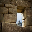 Machu Picchu.  Incan stonework. — Stock Photo