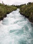 Huka Falls near Taupo, New Zealand. — Stock Photo
