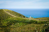 Lighthouse at northernmost point of New Zealand. — Stock Photo
