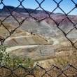 Open pit mining area in New Mexico. — Stock Photo #31579575