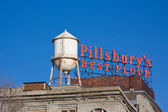 Rooftop sign on the PIllsbury A Mill in Minneapolis, MN. — Photo