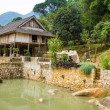 Stilt house homestay, Mai Chau, Vietnam. — Stock Photo #37559165