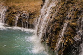 Close-up of small waterfall, Laos. — Stockfoto
