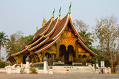 The famous Xieng Thong Buddhist temple in Luang Prabang. — Stock Photo
