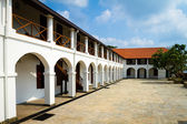 Colonial building inside Galle Fort. — Stock Photo