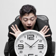 Wasting time,business concept — Stock Photo