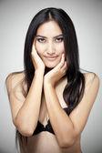 Retrato de uma mulher sexy — Foto Stock