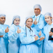 Friendly group of doctors — Lizenzfreies Foto