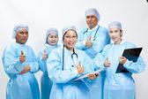 Groupe amical des médecins — Photo