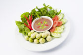 Thai cuisine-Asiatica Salad with spicy sauce — Stock Photo