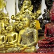 Small Buddha statues — Stock Photo