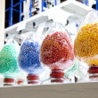 Industrial plastic granules — Stock Photo