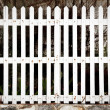 White fence — Stock Photo #28432473