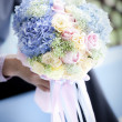 Wedding flower bouquet — Stock Photo