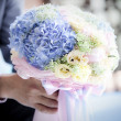 Wedding flower bouquet — Stock Photo #28437307