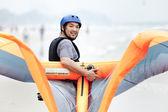 кайт серфинг — Стоковое фото