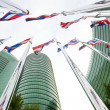 National flags of Thailand — Stock Photo #28443129