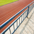 Tracks on red field — Stock Photo #28446719